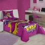 Jogo De Cama Lençol E Fronha Barbie Super Princesa Solteiro
