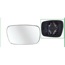 Lente Espelho Retrovisor Sandero 10/13 C/ Base Lado Direito