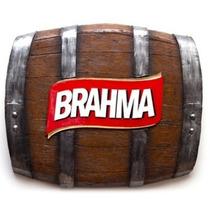 Quadro Barril Decorativo Horizontal Brahma
