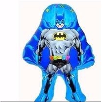 Balão Metalizado Batman 66x45 Cm (kit C/ 12 Unds)