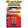 Pilha Aa Panasonic (pequena) Power Alcalina - 50 Cartelas