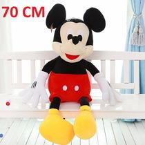 Boneco Pelucia Mickey Mouse Disney 70cm Gigante Antialergico