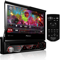 Dvd Automotivo Pioneer Avh-3880dvd Retrátil Tela 7 Mp3 - Nf