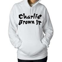 Blusa Charlie Brown Jr. Moletom Canguru -pronta Entrega!