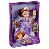 Boneca Princesa Sofia - Princesas Disney Mattel