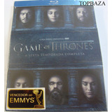 Blu-ray Original: Game Of Thrones - 6ª Temporada - 5 Discos