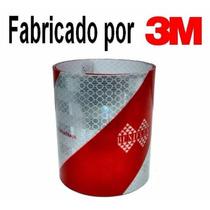 Faixa Refletiva De Parachoque P/ Caminhões 2,40m (padrão 3m)