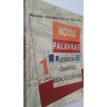 Livro Novas Palavras 1- Lit Gram Red- 2 Grau - Emília Amaral