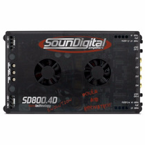 Amplificador Módulo Sd800.4 800 Rms Digital
