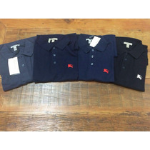 Lote 5 Polos Burberry
