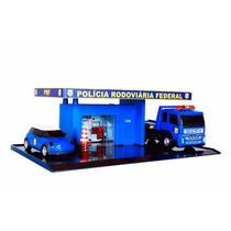 Mini Policia Rodoviaria Federal Caminhão Viatura Plataforma