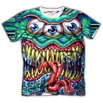 Acid Shop - Camiseta Psicodélica - Cyclop Monster