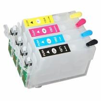 Cartucho Recarregável Compatível Epson T196 Xp201 Xp204 214