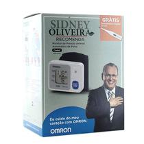 Aparelho De Pressão Digital-de Pulso-omron-grátis Termometro