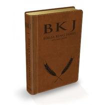 Bíblia De Estudo King James Letra Gde. Marrom