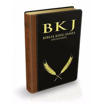 Bíblia King James Atualizada Bkj - Preta E Marrom