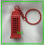Chaveiro Londres Cabine Telefone 12 Pçs
