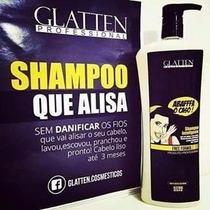 Shampoo Alisante Para Os Cabelos - Abaffa 1l