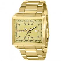 Relógio Lince Mqg4267s C1kx Dourado Quadrado Champ- Refinado