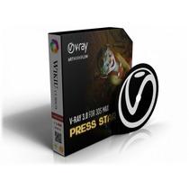 Dvd Curso | Vray 3d Max | Apostilas E Video Aulas | R$ 12