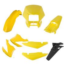 Carenagem Bros 150 Amarelo 2008 Kit Completo