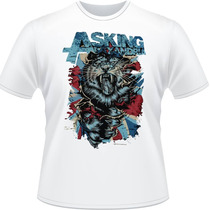Camisa Asking Alexandria Ben Bruce Dannny Tiger Camiseta