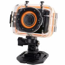 Filmadora Câmera Esporte Mergulho Action Cancorder