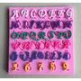 Forma Molde Bolo Silicone Letras Alfabeto Pasta Americana