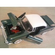 Carro Miniatura Escala 1:24 Coleção Ano 1957 Bel Air