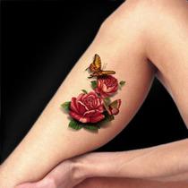 Tatuagem Temporaria 3d Grande Muito Real Tatoo 3d