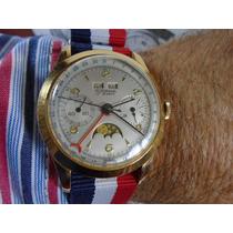 Relógio Rodania Cronógrafo Tri Calendário Fase Lunar L 186