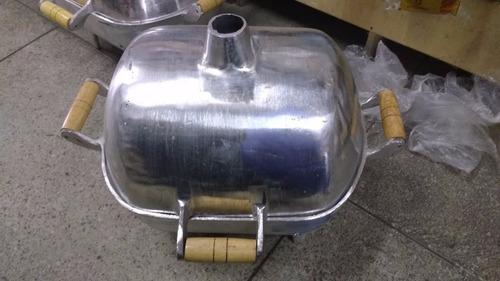 Churrasqueira A Bafo 100% Alumínio.