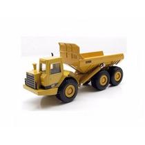 Miniatura De Caterpillar Caminhão De Lixo D350d 1:50 Ertl