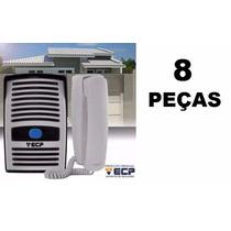 Kit C/ 8 Interfones Porteiro Eletrônico Intervox Ecp