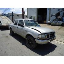 Sucata Ford Ranger Xlt 2.8 Peças Lataria Motor Cambio