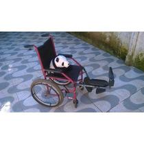 Cadeira De Rodas Para Criança Com Apoio Regulável (usada)