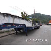 Carreta Porta Container Rebaixada (4 Eixos).