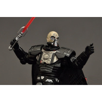 Darth Malgus Raro Black Series Casaco De Tecido!star Wars!