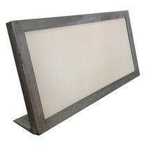 Quadro Porta-retrato Moldura Metal Ferro Rústico 50x25 Usado