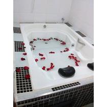 Banheira Para Hidromassagem Prontinha P/ Instalação Completa