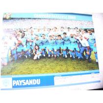Miniposter Paysandu Campeão Paraense 2005 Placar Frete Grats
