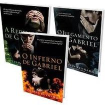Trilogia Julgamento De Gabriel - Livros Originais E Novos