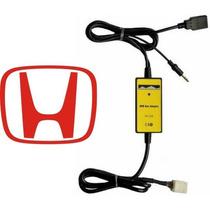 Adaptador Usb Honda Civic Crv Interface Cabo Pen Drive Aux