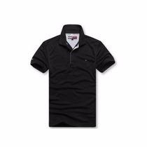 Camisa Gola Polo Blusa Camiseta Várias Marcas/cores, Confira