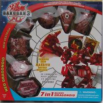 Bakugan Battle Brawlers New Vestroia Maxus Dragonoid 7 Em 1