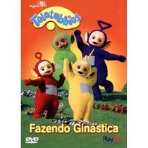 Dvd Teletubbies - Fazendo Ginástica * * * Frete Grátis * * *