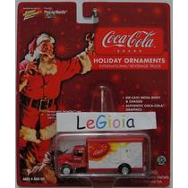 Johnny Lightning International Beverage Truck Coca Cola