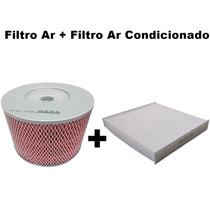 Filtro Ar + Filtro Ar Condicionado Hilux 2.7 16v Após 2009