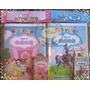 Kit Colorir Princesas Da Disney Com Giz De Cera ( Artmovie)