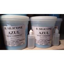 Borracha De Silicone Azul Com Catalisador De 25grs